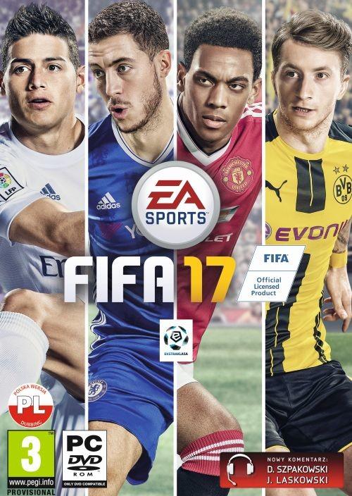 EA Sports DIGITAL FIFA 17 PL + BONUS (klucz ORIGIN)