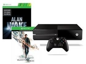Microsoft Xbox One 500GB Czarny+ Quantum Break + Alan Wake