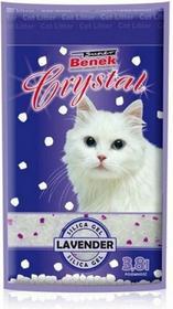 Certech Super Benek Crystal Lawenda Żwirek silikonowy 3,8 l