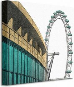 Southbank - Obraz na płótnie