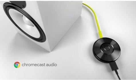 Chromecast GOOGLE Audio