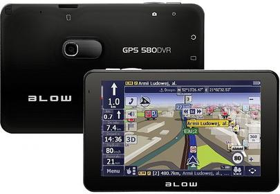 Blow GPS580 DVR AutoMapa Polska