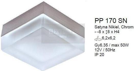 PP Design PP 170 SN - Oczko stropowe