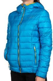 Outhorn Kurtka zimowa puchowa damska TOZ15-KUD602 - Turquoise Melange Kobiety