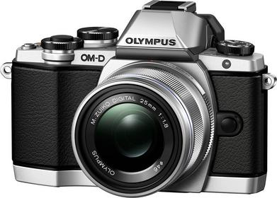 Olympus OM-D E-M10 + 14-42 EZ 3D srebrny