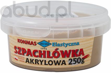 SBS-SIM Sławomir Pilniak Szpachlówka akrylowa 250g Mix kolorów 5902363782188