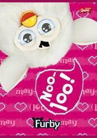 Zeszyt A5 Furby w 3 linie 16 stron Noo-100!-