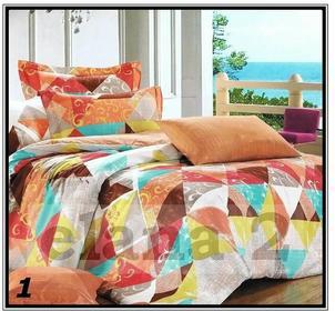 Cotton World Komplet pościeli satyna bawełna 200x220
