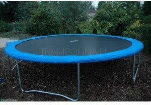 Euro Trampolina ogrodowa z drabiną 427 cm (14ft)