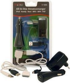 Profitec Profitec V 1005 3 in 1 USB - Ładowarka do iPod PSP MP3 MP4
