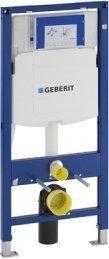 Geberit Duravit DuraStyle Zestaw Stelaż podtynkowy UP300 z przyciskiem miską WC wiszącą i deską wolnoopadającą (111.320.00.5 +111.815.00.1 +115.777.21.1 +156.050.00.1 +0063790000) Wa