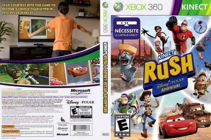 Pixar Rush Xbox 360