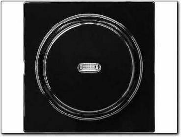 Gira Łącznik przyciskowy wyłącz 2bieg. kontr S-Color czarny