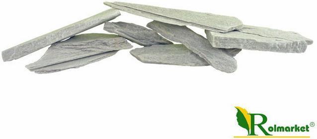 Polski Biały kwarcytowy Kamień ozdobny do biokominka 1,5kg