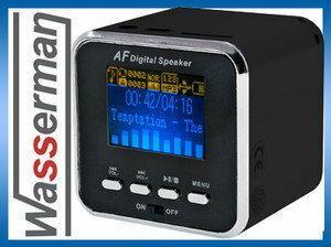 Import Głośnik przenośny mini AF-18A, odtwarzacz MP3 z USB i SD + FM