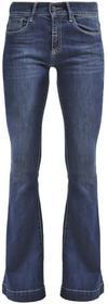 Deyk AMY jeansy bootcut granatowy denim 93-6000