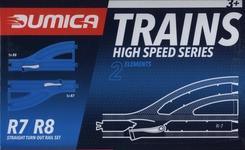 Dumica Straight Turn out rail set R7-8