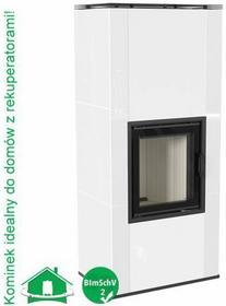 Ryfel 30050841 Wkład kominkowy7 kW NADIA 8 w zabudowie kaflowej - biały