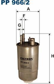 FILTRON PP 966/2 FILTR PALIWA