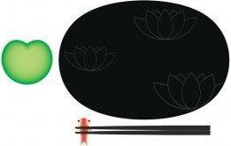 Alessi Zestaw do sushi Lily Pond ASG90 SET