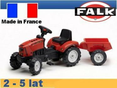 Falk Traktor Lander z przyczepą czerwony FA2030AC