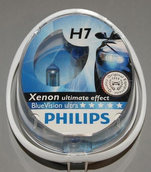 philips ar wka h7 bluevision xenon effect 2szt 12972bv. Black Bedroom Furniture Sets. Home Design Ideas