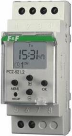 F&F Pabianice Zegar sterujący programowalny PCZ-521.2