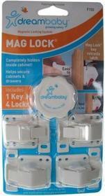 Dream Baby Magnetyczne zabezpieczenie szafek 4szt PCR150