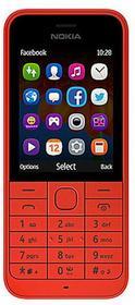 Nokia Asha 220 Dual Czerwony