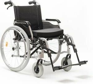 MDH Wózek inwalidzki ręczny aluminiowy VCWK9AL