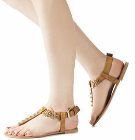 brązowy sandały Leire