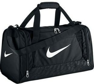 Nike Torba sportowa Brasilia 6 Medium BA4829 001 czarny