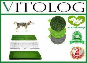 AMERICAN KENNEL CLUB Kuweta dla psa szczeniaka szczeniąt z trawą mata trawiasta
