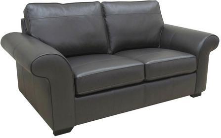Bondo Sofa skórzana 3 osobowa - czarna