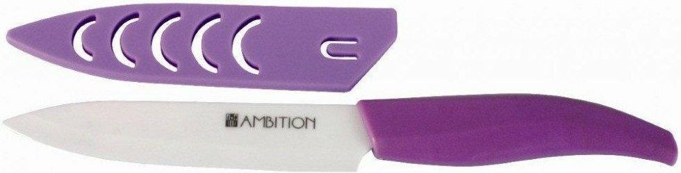 Ambition uniwersalny Nóż pojedynczy ceramiczne Fusion Plum 13 cm