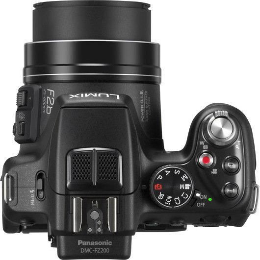 Panasonic Lumix DMC-FZ200 3D czarny