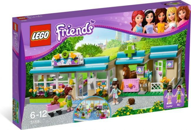 LEGO Friends Weterynarz 3188