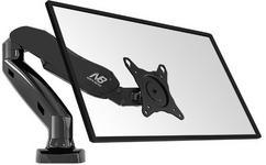 Fiber Novelty NB F80 -Solidny obrotowy Uchwyt biurkowy na sprężynie gazowej dla