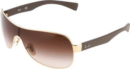 Ray Ban Ray-Ban Okulary przeciwsłoneczne goldfarben/brązowy 0RB3471