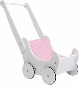 Legler Wózek dla lalek kolor biały
