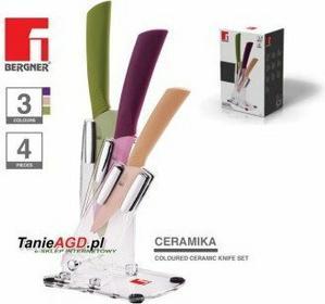 Bergner Zestaw noży ceramicznyCH 4 ELE [BG-4123]