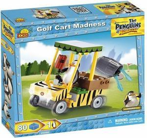 Cobi Pingwiny z Madagaskaru Wózek golfowy 26080
