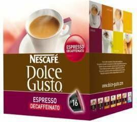Nescafe Dolce Gusto Espresso bez kofeiny