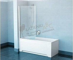 Ravak Ścianka prysznicowa PVS1-80 satyna+transparent PIVOT 79840U00Z1
