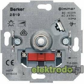 Berker Ściemniacz obrotowy 60-400W 281901