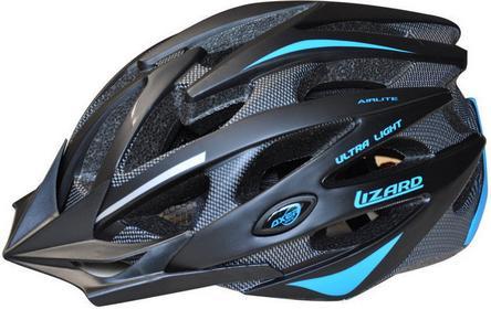 AXER Bike Kask rowerowy Lizard - Niebieski 0817