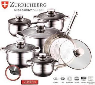 Zurrichberg GARNKI INOX 12 ELE. ZB-8013