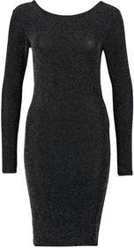 Vero Moda Sukienka z dżersej czarny 10131310