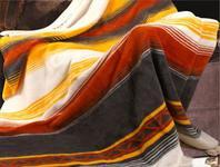 Koc bawełniany z frędzlami Moreno Materace Dla Ciebie 150 x 200