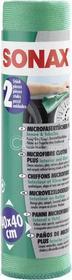 Sonax ĹšCIERECZKA Z MIKROFIBRY preparat do czyszczenia szyb 40/40cm 2szt416541